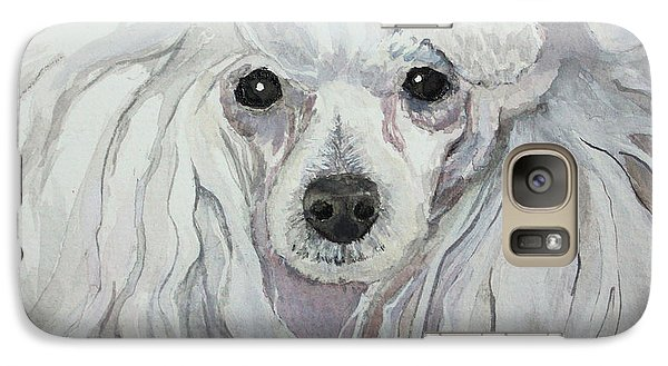 Galaxy Case featuring the painting Naughty Or Nice by Rachel Hames