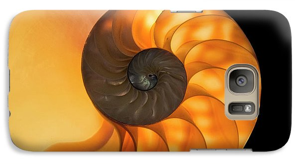 Galaxy Case featuring the photograph Nautalis by Brian Jones
