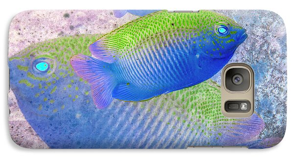 Galaxy Case featuring the photograph Nautical Beach And Fish #3 by Debra and Dave Vanderlaan