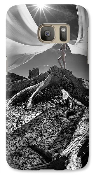 Galaxy Case featuring the photograph Nautilus by Dario Infini