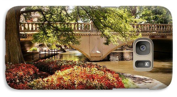 Galaxy Case featuring the photograph Navarro Street Bridge by Steven Sparks