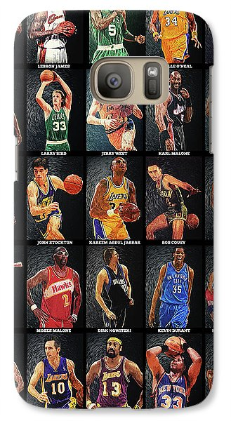 Nba Legends Galaxy S7 Case