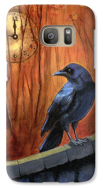 Galaxy Case featuring the painting Nearing Midnight by Terry Webb Harshman