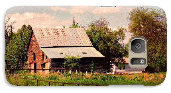 Galaxy Case featuring the photograph Nebraska In The Summer Afternoon by Tyler Robbins