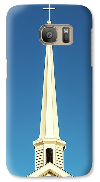 Galaxy Case featuring the photograph Needle-shaped Steeple by Onyonet  Photo Studios