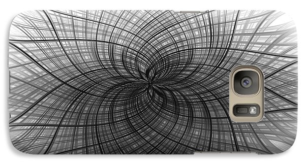 Galaxy Case featuring the digital art Negativity by Carolyn Marshall
