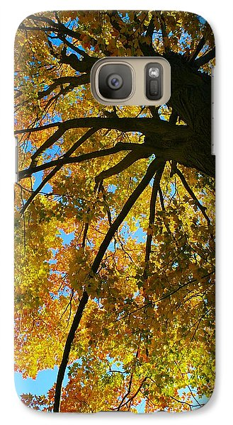 Galaxy Case featuring the photograph Neighbor's Beauty by Polly Castor