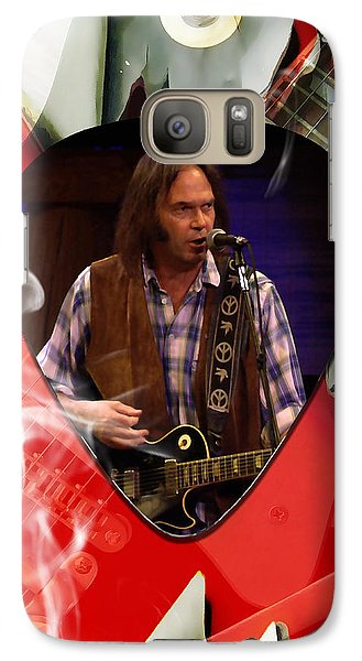 Neil Young Art Galaxy S7 Case