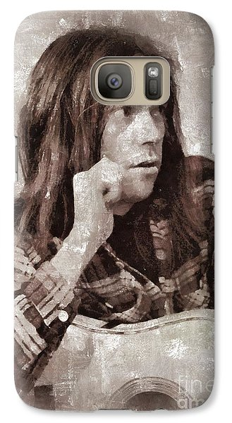 Neil Young By Mary Bassett Galaxy S7 Case