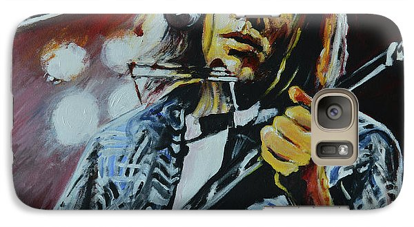 Neil Young Galaxy S7 Case - Neil Young by Melissa O'Brien