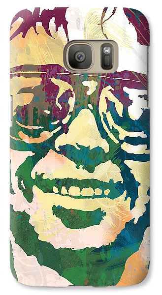 Neil Young Pop Stylised Art Poster Galaxy S7 Case by Kim Wang