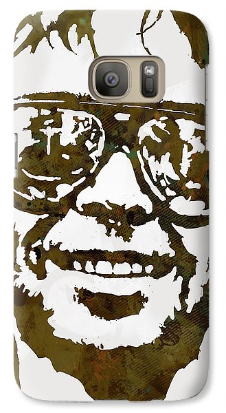 Neil Young Pop  Stylised Art Sketch Poster Galaxy S7 Case by Kim Wang