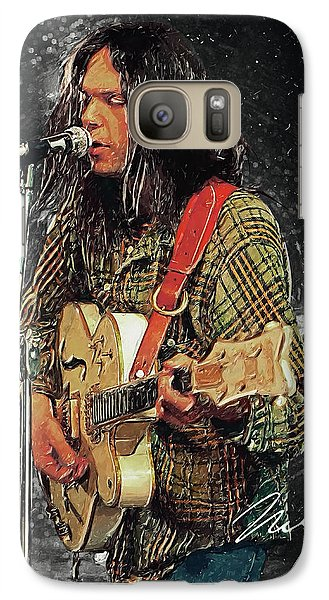 Neil Young Galaxy S7 Case