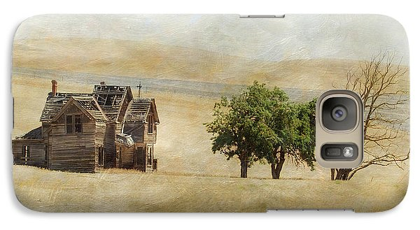 Galaxy Case featuring the photograph Nelson Homestead by Angie Vogel