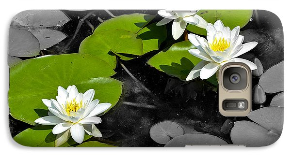 Galaxy Case featuring the photograph Nenuphar by Gina Dsgn