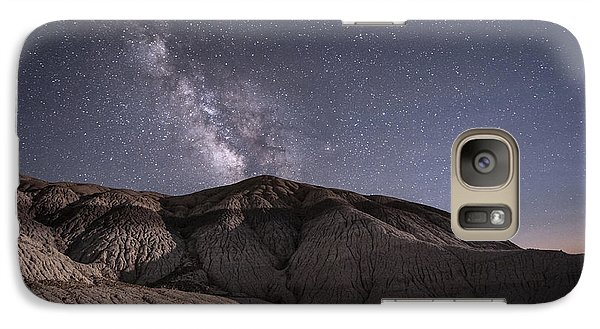 Galaxy Case featuring the photograph Neopolitan Milkyway by Melany Sarafis