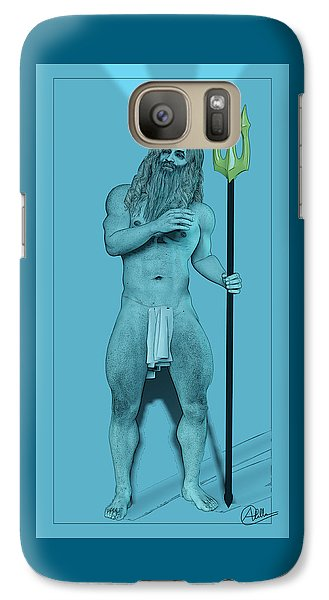 Blue Neptune Galaxy S7 Case by Quim Abella