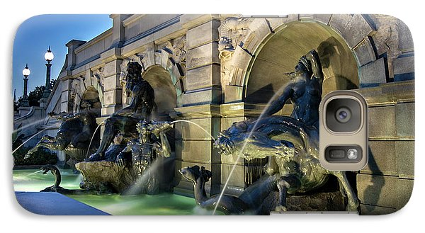 Galaxy Case featuring the photograph Neptune Fountain by Greg Mimbs