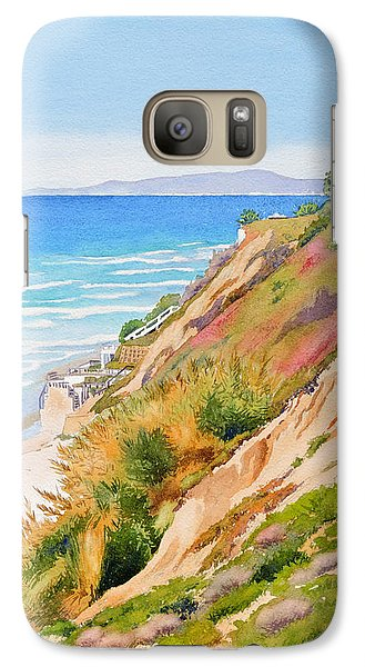 Neptune's View Leucadia California Galaxy Case by Mary Helmreich