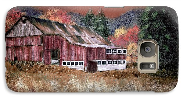 Galaxy Case featuring the digital art Nestled In The Laurel Highlands by Lois Bryan