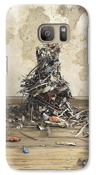 Magpies Galaxy S7 Case - Net Worth by Cynthia Decker