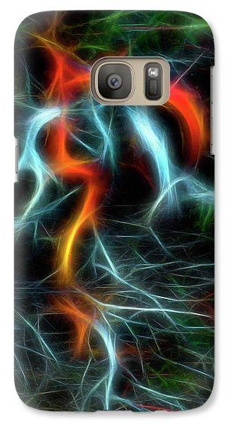 Neurons On Fire Galaxy S7 Case