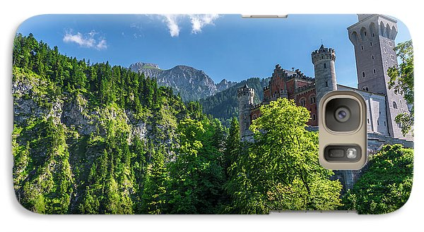 Galaxy Case featuring the photograph Neuschwanstein Castle by David Morefield