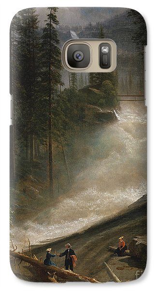 Galaxy Case featuring the photograph Nevada Falls Yosemite                                by John Stephens