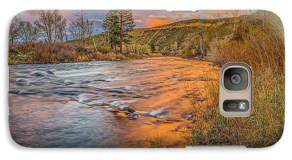 Galaxy Case featuring the photograph Nevada Gold  by Scott McGuire