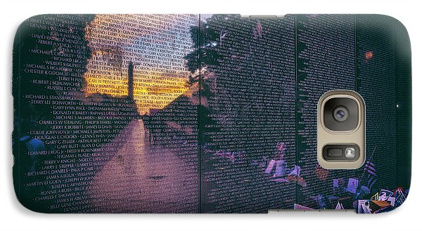Galaxy Case featuring the photograph Never Forget by Edward Kreis