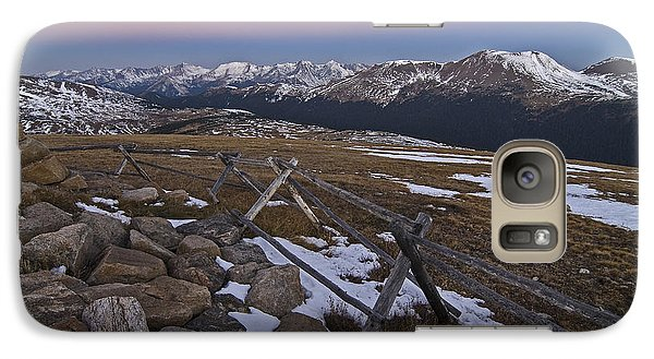 Never Summer Range Galaxy S7 Case
