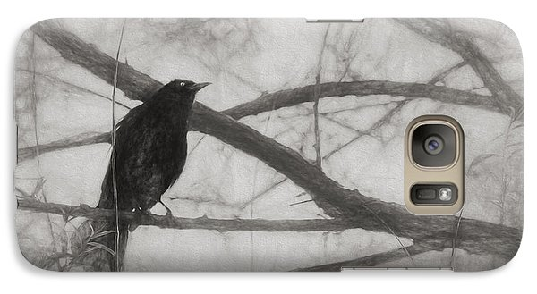 Nevermore Galaxy S7 Case by Melinda Wolverson