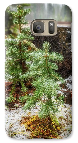 Galaxy Case featuring the photograph New Beginnings by Cat Connor
