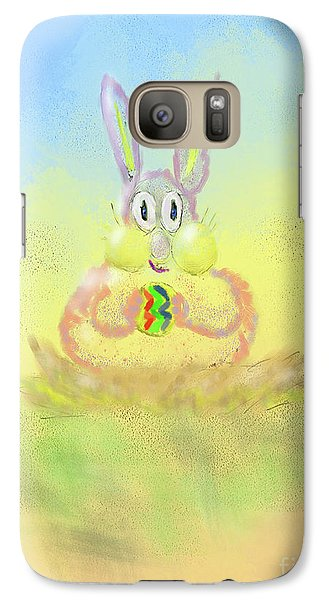 Galaxy Case featuring the digital art New Beginnings by Lois Bryan