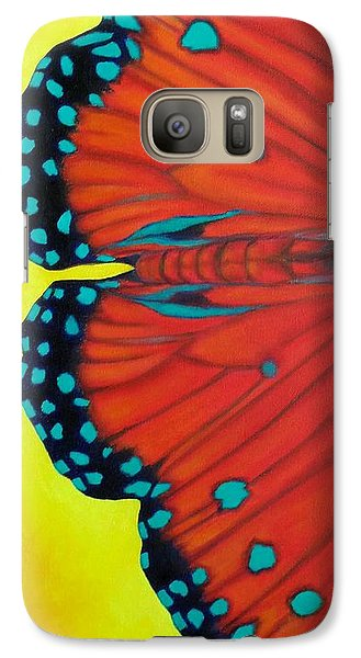 Galaxy Case featuring the painting New Beginnings by Susan DeLain