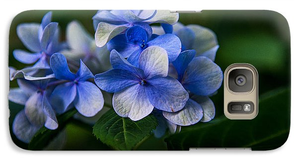 Galaxy Case featuring the photograph New Blues  by John Harding