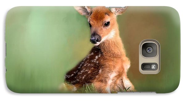 Galaxy Case featuring the photograph New Born Baby by Brenda Bostic