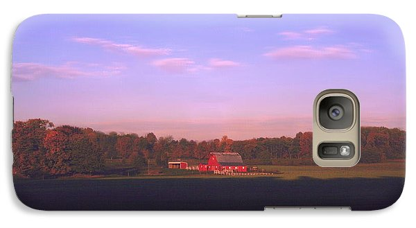 Galaxy Case featuring the photograph New Day Dawning by Diane Merkle