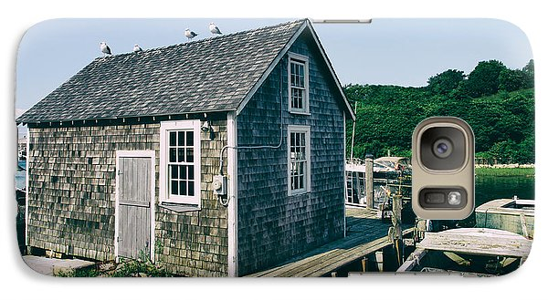 Galaxy Case featuring the photograph New England Fishing Cabin by Mark Miller