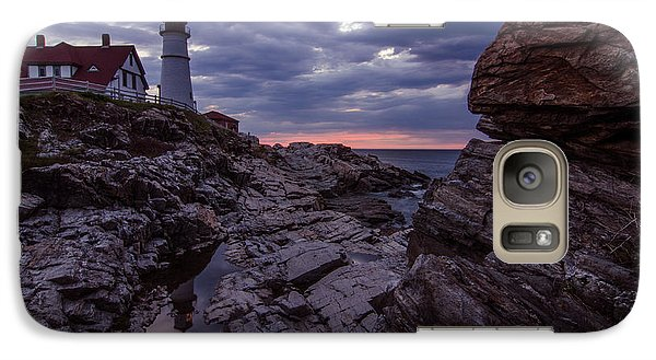 Galaxy Case featuring the photograph New England by Paul Noble