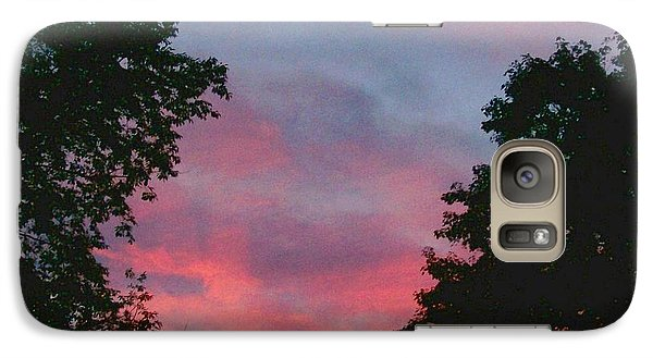 Galaxy Case featuring the digital art New Hampshire Sunset by Barbara S Nickerson