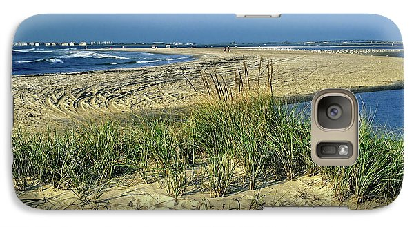 Galaxy Case featuring the photograph New Jersey Inlet  by Sally Weigand