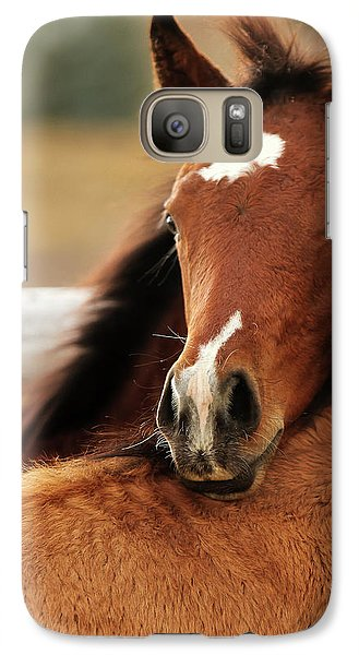 Galaxy Case featuring the photograph New Life by Sharon Jones