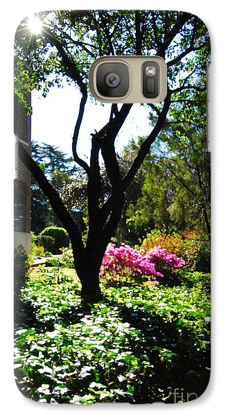 Galaxy Case featuring the photograph New Mercies by Linda Mesibov