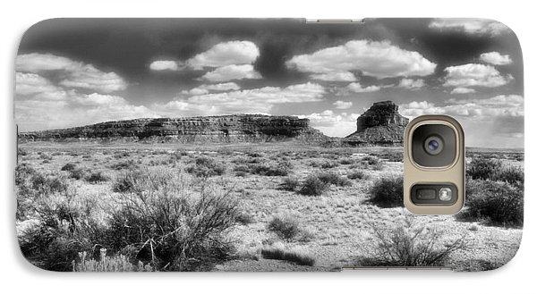 Galaxy Case featuring the photograph New Mexico by Jim Walls PhotoArtist