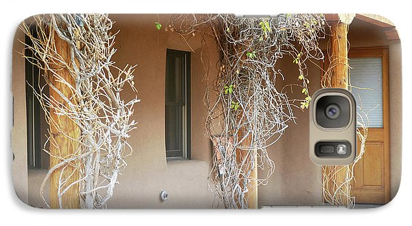 Galaxy Case featuring the photograph New Mexico Rustic Country Porch by Andrea Hazel Ihlefeld