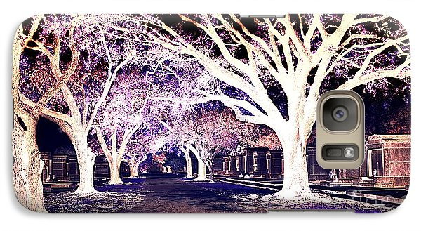 Galaxy Case featuring the photograph New Orleans Cemetery by Janice Spivey