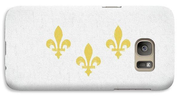 Galaxy S7 Case featuring the digital art New Orleans City Flag by JC Findley