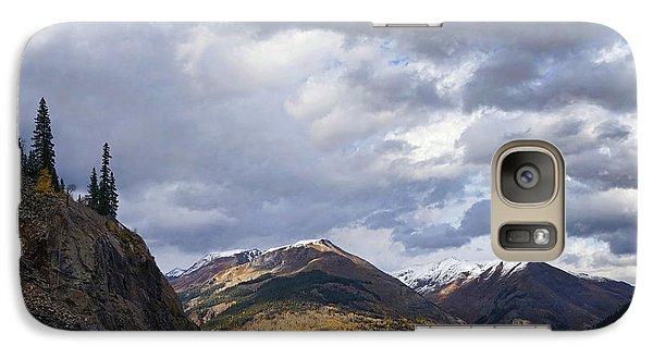 Peeking At The Peaks Galaxy S7 Case