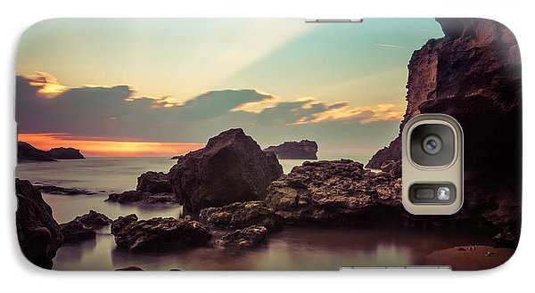 Galaxy Case featuring the photograph New Vision by Thierry Bouriat